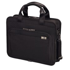 "Architecture® 3.0 Wainwright 13"" Slimline Laptop Brief in Black"