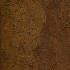 "Natural Cork New Dimensions 17-1/2"" Locking Engineered Floating Cork Flooring in Rustico"