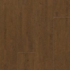 "Almada Fila 4-1/8"" Engineered Locking Cork Flooring in Café"