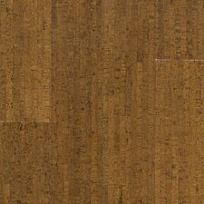 "Almada Marcas 4-1/8"" Engineered Locking Cork Flooring in Coco"