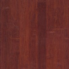"Glueless Locking 5-1/4"" Engineered Bamboo Flooring in Cognac"