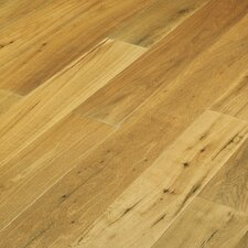 "Navarre 7-1/2"" Smooth Rustic Engineered Oak Flooring in Bergerac"