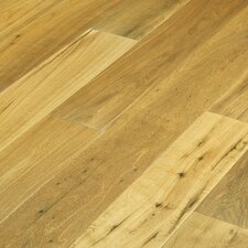"Navarre 7-1/2"" Hand-Scraped Rustic Engineered Oak Flooring in Gaillac"