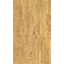 "Natural Cork New Earth Volare 4-1/8"" Engineered Locking Cork Flooring in Natural"