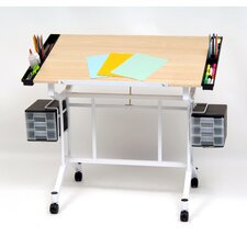 Pro Craft Station Wood Drafting Table