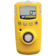 Hydrogen Resistant Range Portable Gas Monitor For Carbon Monoxide With Yellow Housing