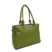 Large Ladies Side Strap Tote in Apple