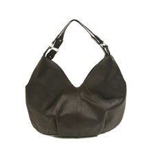 Ladies Large Hobo Bag in Chocolate