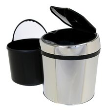 1.5 Gallon Stainless Steel Automatic Touchless Trash Can