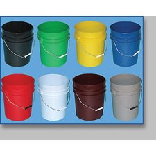 Company 5 Gallon Red Open Head Pail
