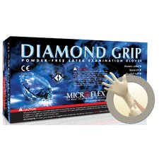 Diamond Grip Latex Glove (100 Count)