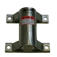 Confined Space Zinc Plated Mild Steel Wall Mount Sleeve