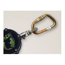 Rhino Cable Self-Retracting Lifeline With Steel Twist-Lock Carabiner And Stainless Steel Swivel