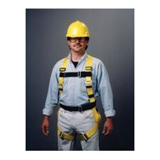 Full Body Construction Style Harness With Friction Buckles