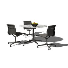 "Eames 4 Piece Dining Set with 42"" Table"