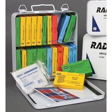 Person Unitized First Aid Kit In Metal Case
