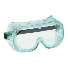 Vent Dust Goggles With Clear Soft Frame And Clear Lens