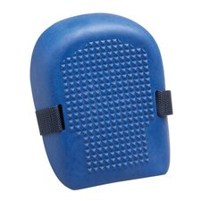 Size Fits All Blue Rubber Knee Pads With Adjustable Straps And Hook And Loop Closures