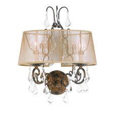 Belle Marie 2 Light Wall Sconce