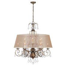Belle Marie 12 Light Crystal Chandelier