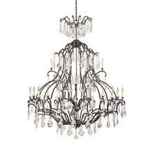 Timeless Elegance 21 Light Chandelier