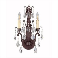 Timeless Elegance 2 Light Wall Sconce