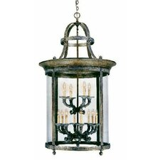 French Country Influence 12 Light Hanging Lantern