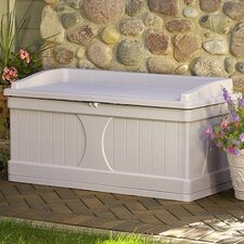 Resin 99 Gallon Deck Box with Seat