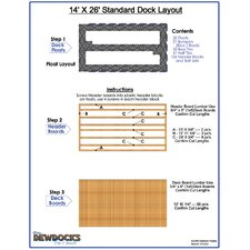 "168"" x 312"" Standard Dock Layout"