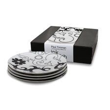 Tribal Lines 4 Side Plates Gift Set