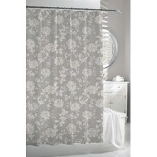 Bliss Bird - Cortina Cotton Shower Curtain