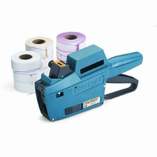 Model 22-6 1-Line/6-Char. Pricemarker Kit, Marker Gun/Ink Roll/9 Rolls Labels