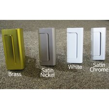 Door Guardian in Satin Nickel