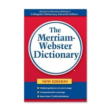 "Paperback Dictionary, 75000 Definitions, 720 Pages, 8-1/2""x5-3/4"""
