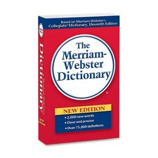 "Paperback Dictionary, 960 Pages, 4-3/16""x6-7/8"""