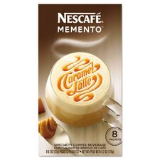 Memento Caramel Latte Coffee (48 Pack)