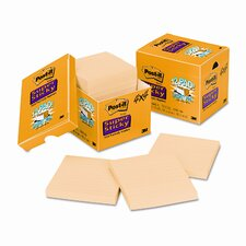 Super Sticky Note Pad, 12 90-Sheet Pads/Pack