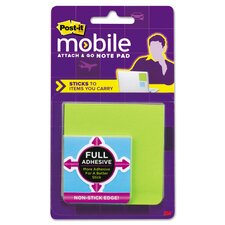 Attach and Go Full Adhesive Note Pads (Pack of 75)