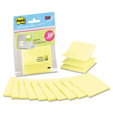 Super Sticky Laptop Pop-Up Note Refill Pad (Set of 10)