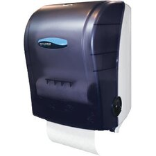 Mechanical Hands-Free Towel Dispenser in Black
