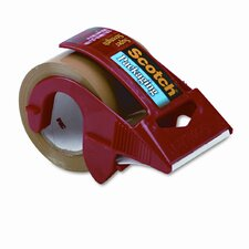 "Packaging Tape in Dispenser, 2"" x 22 Yards, Tan"