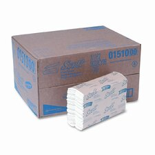 SCOTT C-Fold Paper Towels, 10-1/8 x 13-1/4, WE, 200/pack, 12/ctn