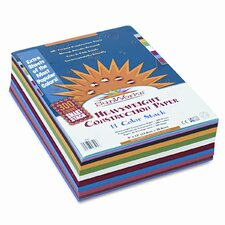 SunWorks Smart-Stack Construction Paper, 9 x 12, Assortment, 300 Sheets