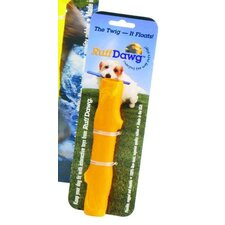 Dog Twig Dog Toy in Yellow