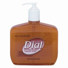 Liquid Dial Liquid Gold Antimicrobial Soap, 16 Oz Pump Bottle