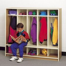 "48"" H Children's Locker with Cubbies"