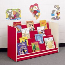 Koala-Tee Mobile Book Display Rack