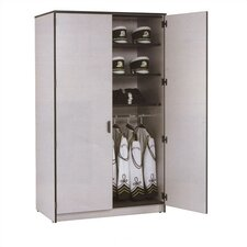 "Harmony 48"" W Folio Storage Cabinet with Three Columns and Optional Doors"