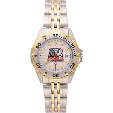 NCAA Ladies All Star Bracelet Watch with Team Logo Dial