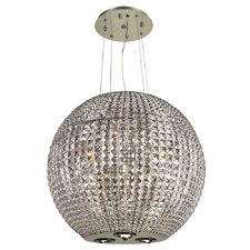 Cabaret 9 Light Crystal Pendant